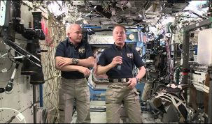 NASA Astronauts Talk About Life Aboard the ISS