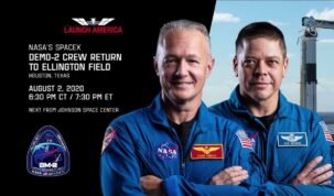Welcome Home to our #LaunchAmerica Astronauts after Historic NASA/SpaceX Flight